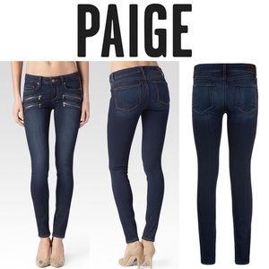 Paige Edgemont Double Zip Skinny Jean